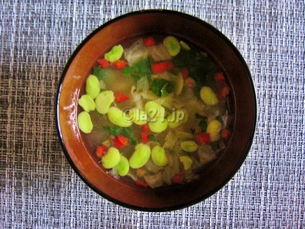 無印 食べるスープ 4種野菜のみそプロス